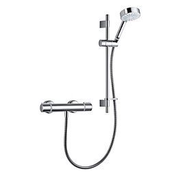 Mira Atom EV Chrome Effect Thermostatic Bar mixer