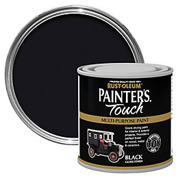 Rust-Oleum Painter's touch Black Gloss Multipurpose paint
