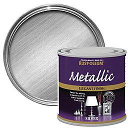 Rust-Oleum Silver Metallic Paint 250 ml