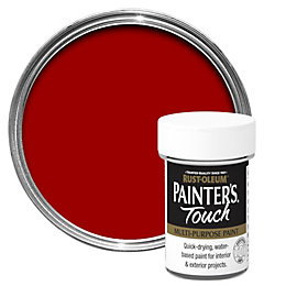 Rust-Oleum Painter's touch Deep red Gloss Multipurpose paint