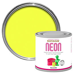 Rust-Oleum Yellow Matt Neon paint 125 ml
