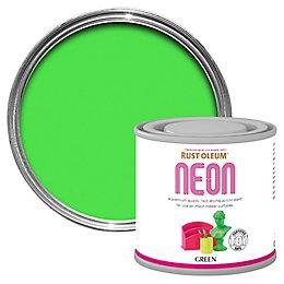 Rust-Oleum Rust-Oleum Green Matt Neon Paint 125 ml