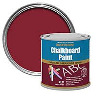 Rust-Oleum Red Matt Chalkboard paint 250 ml
