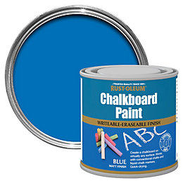 Rust-Oleum Blue Matt Chalkboard paint 250 ml
