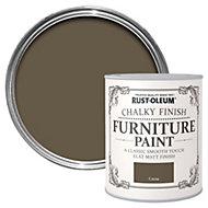 Rust-Oleum Cocoa Chalky Matt Furniture paint 125 ml