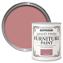 Rust-Oleum Dusky pink Chalky Matt Furniture paint 750
