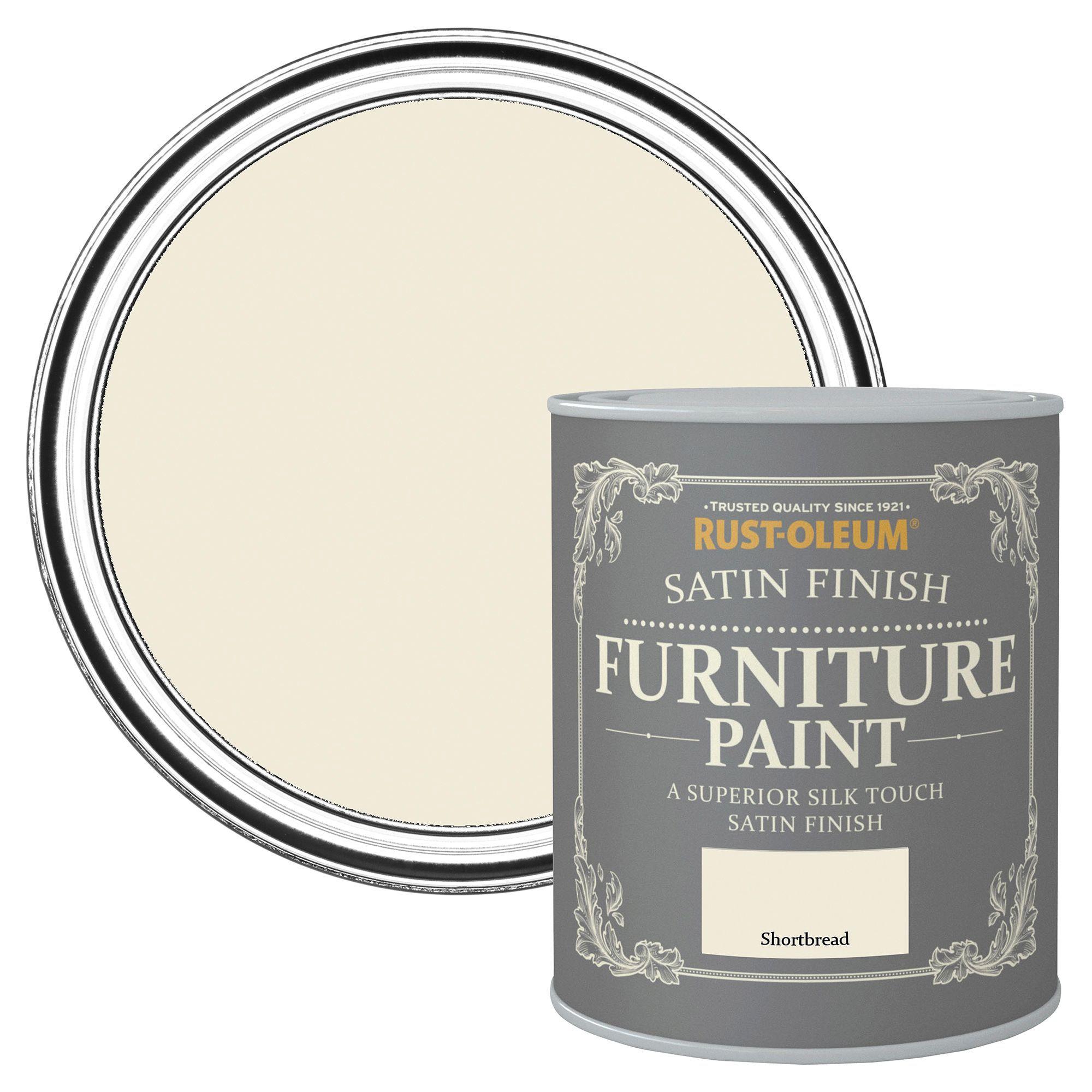 Satin Furniture Paint Shortbread