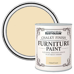 Rust-Oleum Rust-Oleum Clotted Cream Flat Matt Furniture Paint