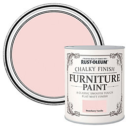 Rust-Oleum Strawberry vanilla Flat Matt Furniture paint 125
