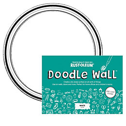 Rust-Oleum Doodle Wall White Dry Gloss Erase Paint