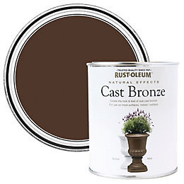 Rust-Oleum Cast bronze Matt Natural effect paint 250