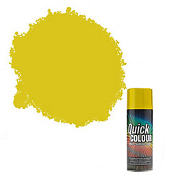 Rust-Oleum Quick Colour Yellow Gloss Gloss Multi Surface