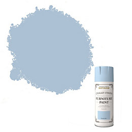 Rust-Oleum Powder blue Chalky finish Matt Furniture spray
