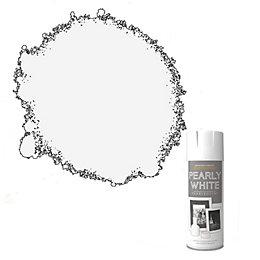 Rust-Oleum Pearly White Metallic Spray Paint 400 ml