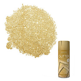 Rust-Oleum Glitter Gold Textured effect Decorative spray paint