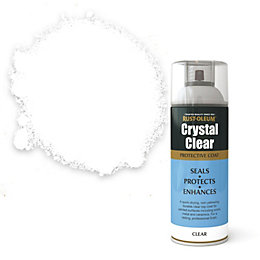 Rust-Oleum Crystal clear Semi-gloss Protective lacquer spray