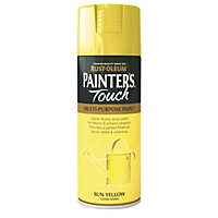 Rust-Oleum Painter's touch Sun yellow Gloss Decorative spray paint 400 ml