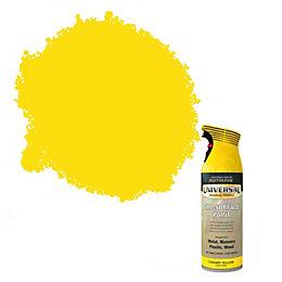 Rust-Oleum Universal Canary Yellow Gloss Spray paint 400
