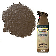 Rust-Oleum Universal Brown Hammered effect All-surface spray paint 400 ml