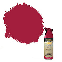 Rust-Oleum Universal Crimson red Gloss All-surface spray paint