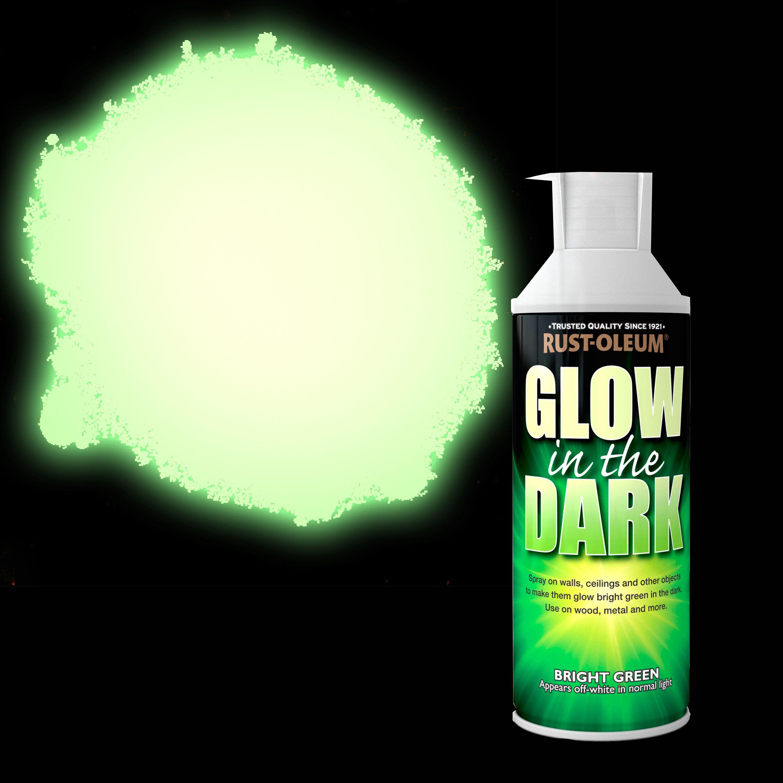 Glow In The Dark Spray Paint Ideas Part - 39: Rust-Oleum Glow In The Dark Glow In The Dark Yellow Matt Spray Paint 400 Ml  | Departments | DIY At Bu0026Q