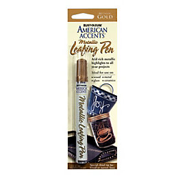 Rust-Oleum American accents Gold effect Leafing pen 9.3