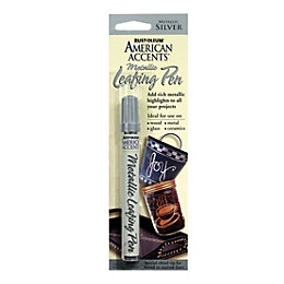 Rust-Oleum American accents Silver effect Leafing pen 9.3