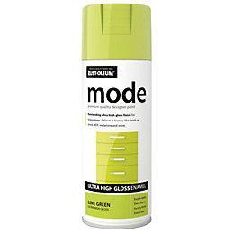 Rust-Oleum Mode Lime Green Gloss Gloss Premium Quality