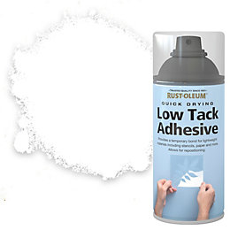 Rust-Oleum Clear Low tack adhesive 150 ml