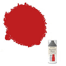 Rust-Oleum Stained glass Red Satin Spray paint 150