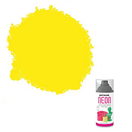 Rust-Oleum Neon Yellow Matt Spray paint 150 ml