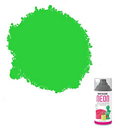 Rust-Oleum Neon Green Matt Neon Spray Paint 150
