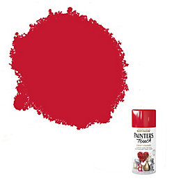 Rust-Oleum Painter's touch Cherry red Gloss Decorative spray