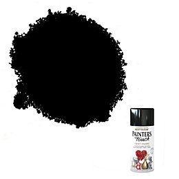 Rust-Oleum Painter's Touch Black Gloss Gloss Decorative Spray