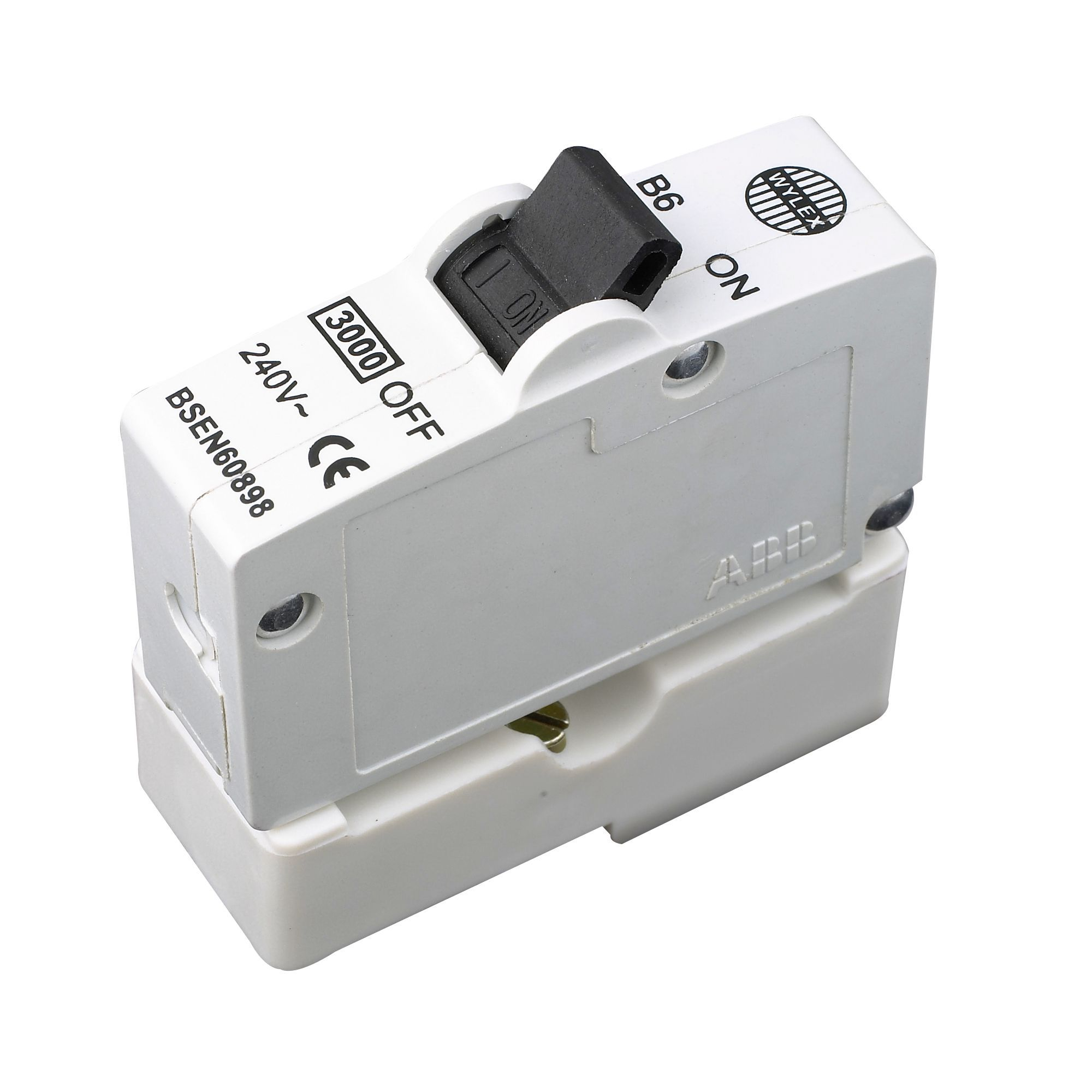 Wylex 6A Miniature circuit breaker | Departments | DIY at B&Q.