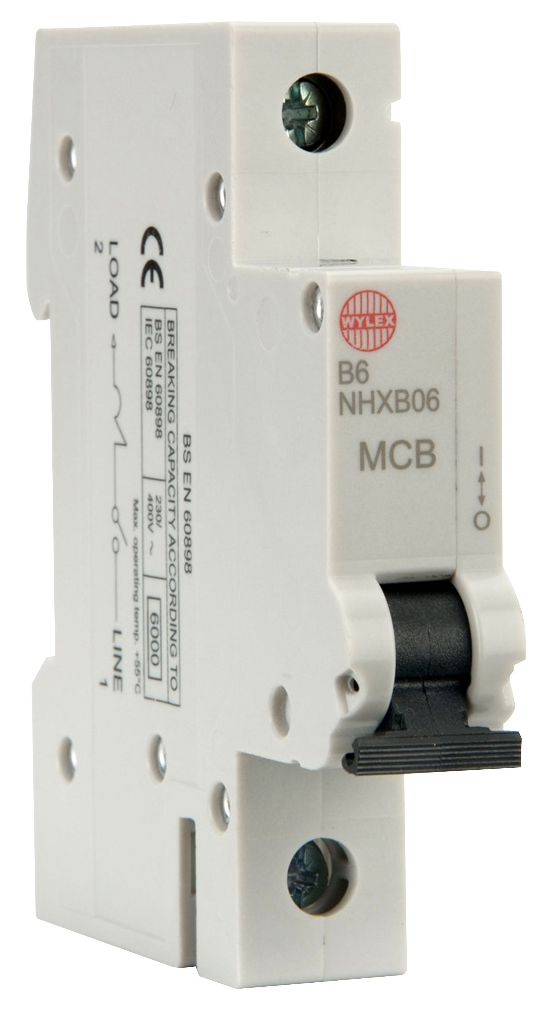 Wylex 6a Miniature Circuit Breaker Mcb Departments