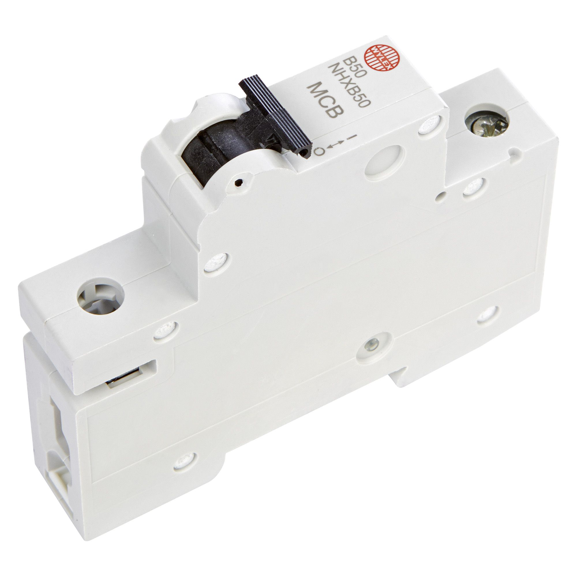Wylex 604 Fuse Box Wiring Library Junction Bq 50a Miniature Circuit Breaker Departments Diy At 12 Volt Auto Reset How