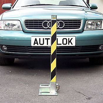 Autolok fold down security post