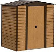 6x5 Woodvale Apex roof Metal Shed