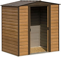 6x5 Woodvale Apex roof Metal Shed With assembly service