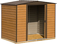 8x6 Woodvale Apex roof Metal Shed With assembly service
