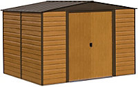 10x6 Woodvale Apex roof Metal Shed With assembly service