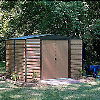 10x8 Woodvale Apex roof Metal Shed With assembly service