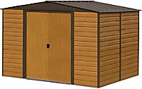12x10 Woodvale Apex roof Metal Shed With assembly service