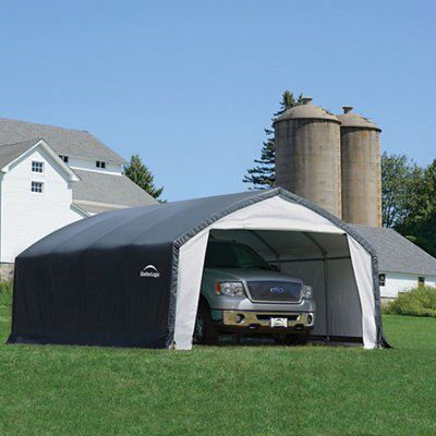20x12 Accelaframe Apex Polyethylene Garage Departments