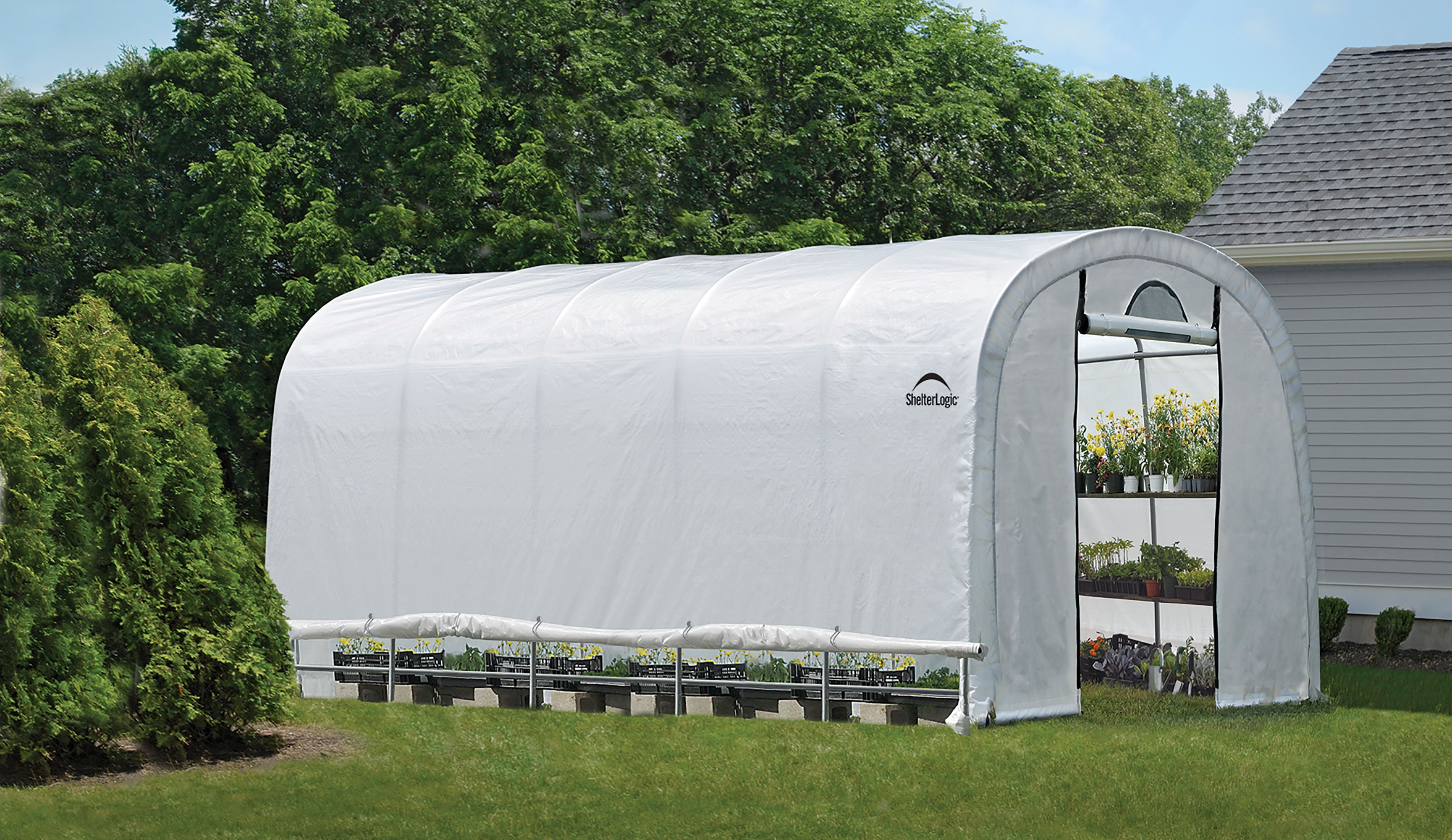 Shelterlogic Heavy Duty 12x20 Greenhouse