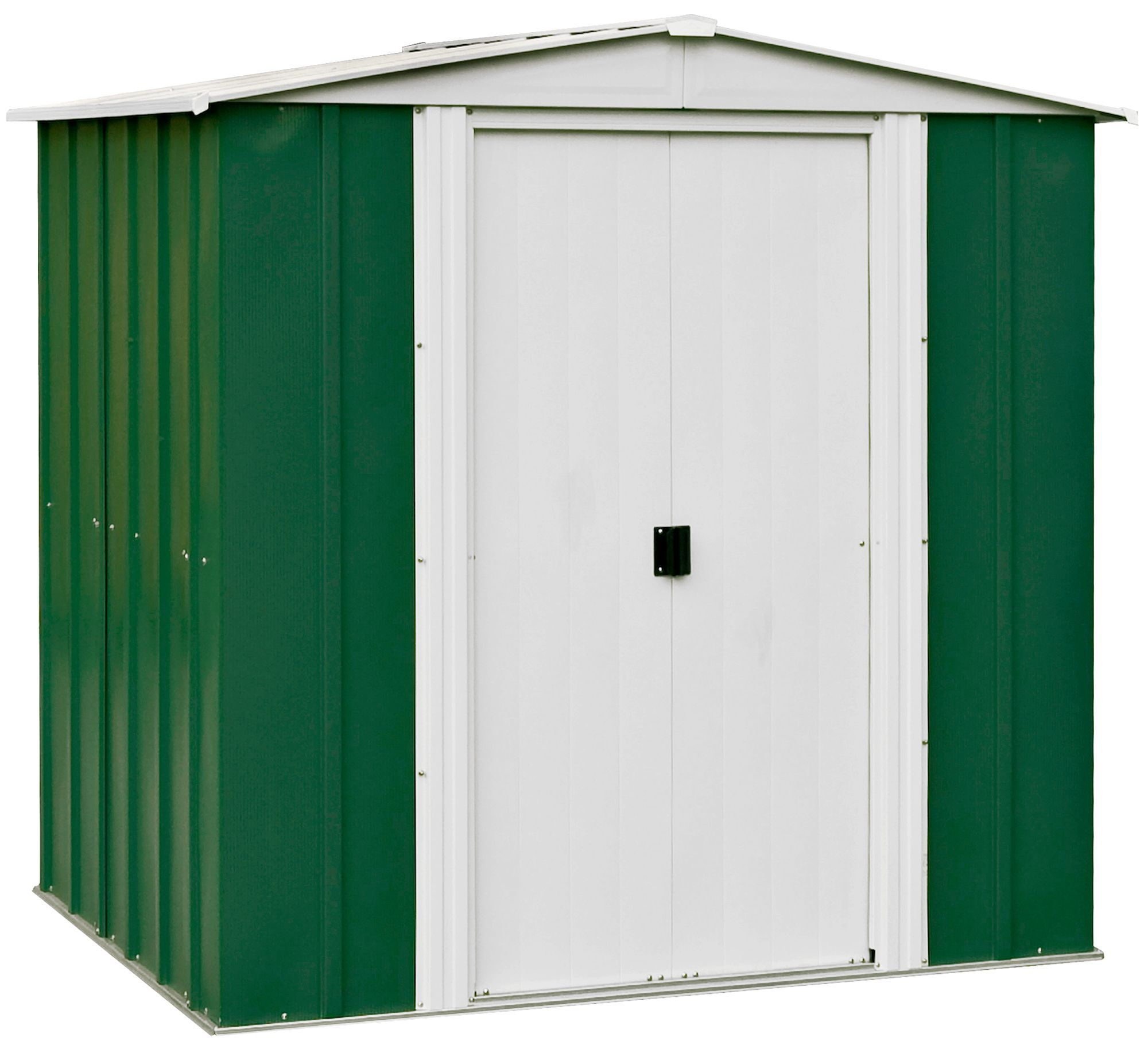 6x5 Greenvale Apex Metal Shed Departments Tradepoint