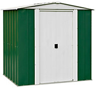 6x5 Greenvale Apex roof Metal Shed