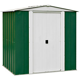 6X5 Greenvale Apex Metal Shed