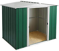 8x6 Greenvale Apex roof Metal Shed